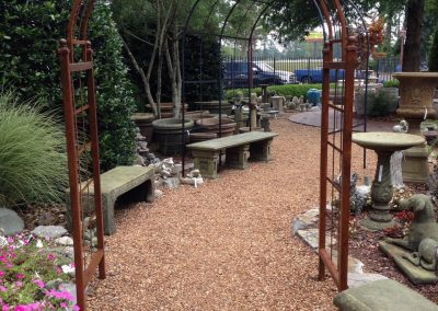 Garden Arbors and Benches