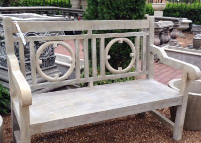 Currey & Company Leagrave Bench