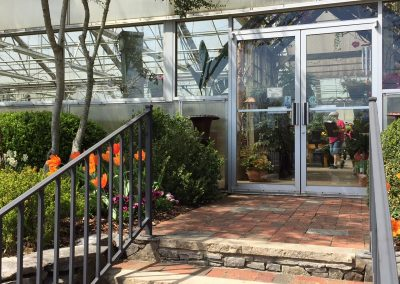 Front Greenhouse entrance