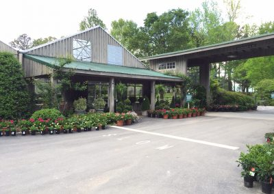 Shrub House and covered walkway