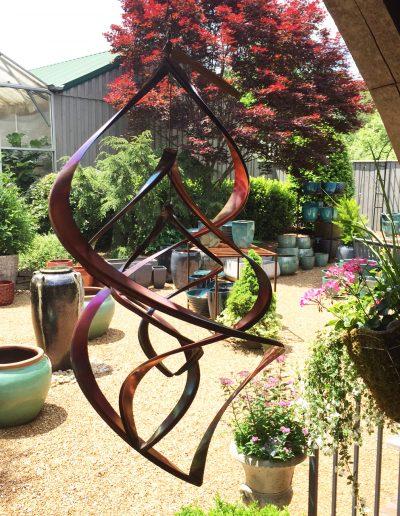 Copper wind spinner