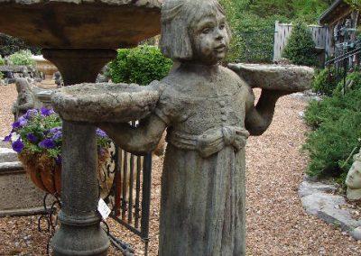 'Savannah Girl' statue