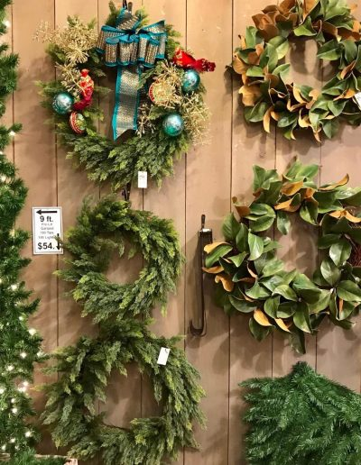 Artificial Wreaths & Garlands